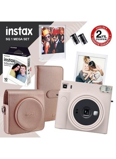 Fujifilm Instax Sq1 Beyaz Fotoğraf Makinesi Ve Mega Hediye Seti Beyaz